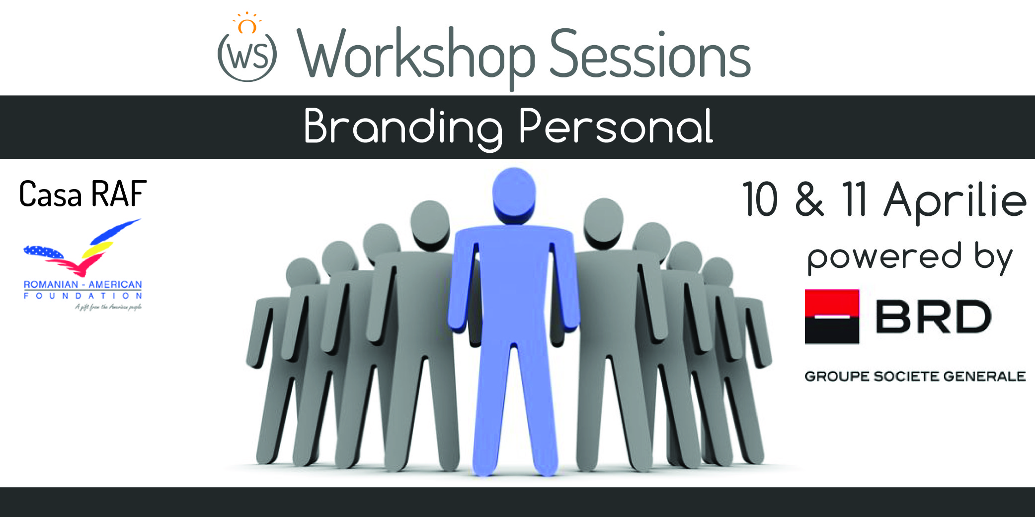 Ai un brand personal? Dezvolta-l la Workshop Sessions