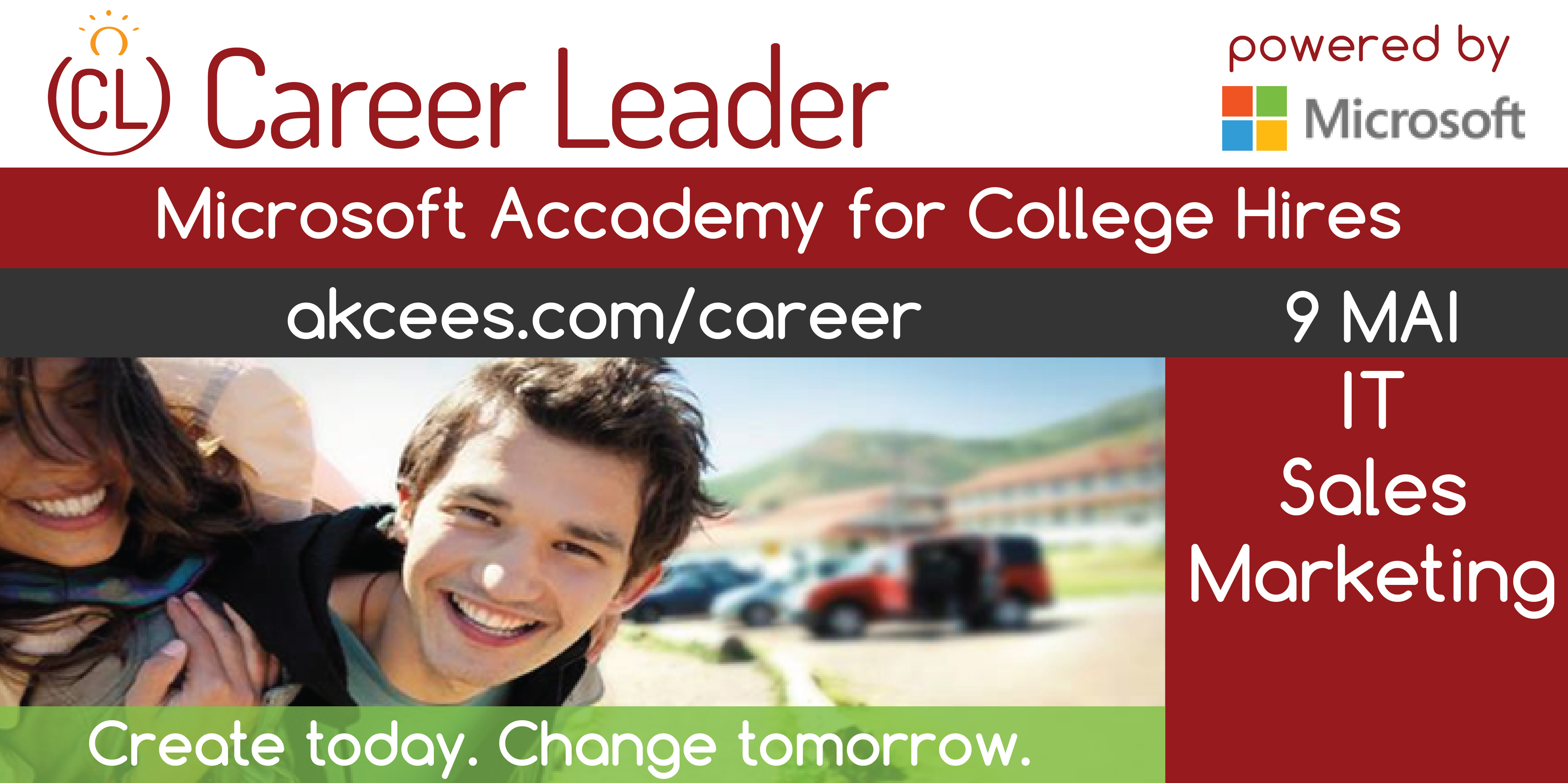 Career Leader – Microsoft Academy of College Hires