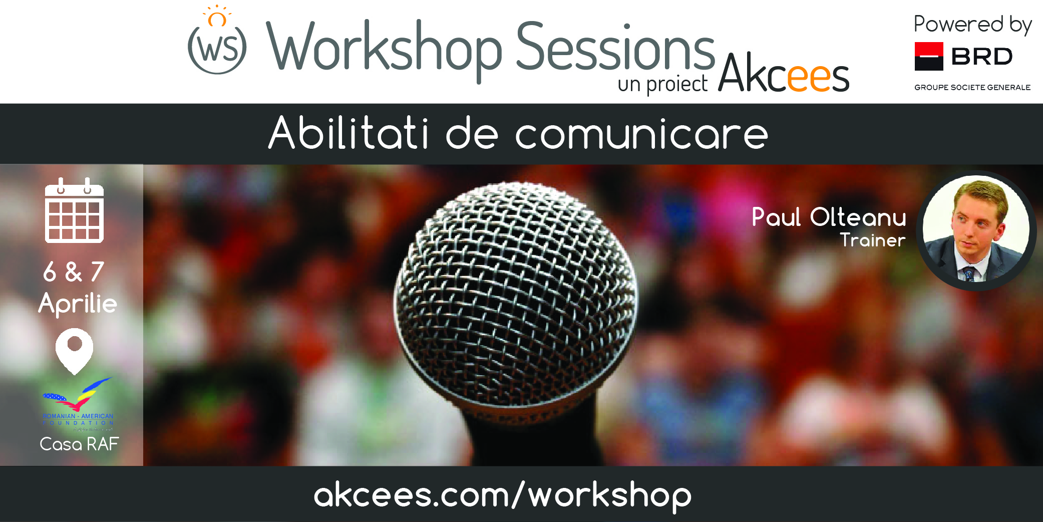 Vino si tu la Academia Workshop Sessions!