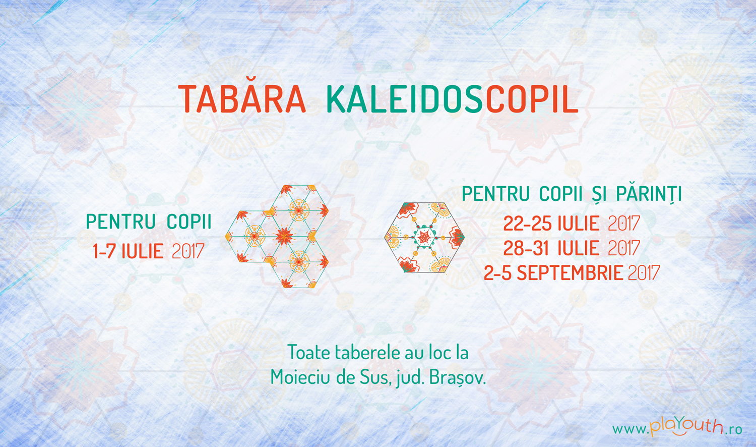 Taberele KaleidosCopil pentru copii si parinti