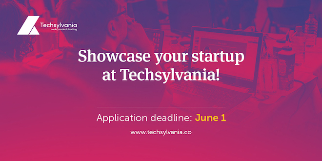 Startups are invited to showcase their products at Techsylvania 2017